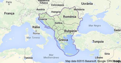 Balkans-mapa