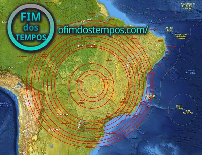 Terremoto Massivo Vindo ao Brasil